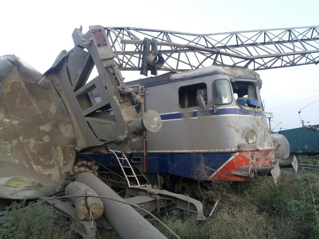 Feteşti accident feroviar