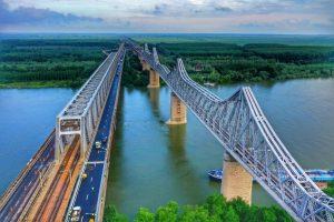Podul Cernavodă pe Autostrada Soarelui