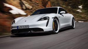 Porsche Taycan - imagine de prezentare