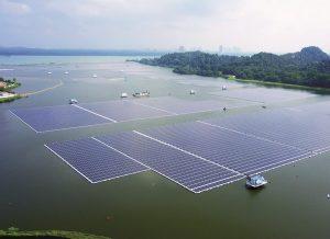 centrala fotovoltaica plutitoare Singapore