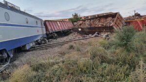 trenuri deraiate