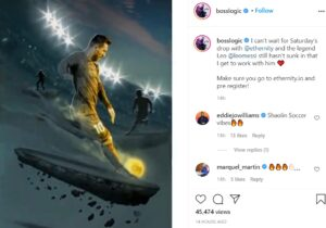 Messi, opere digitale
