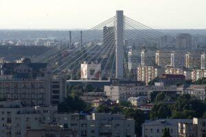 Podul Basarab BUCURESTI - VEDERE AERIANA