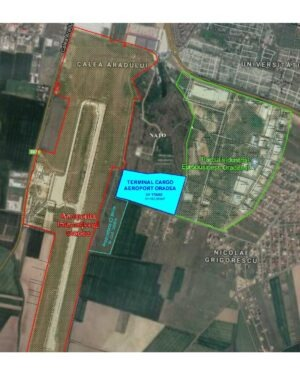 Prezentare - Plan situatie TERMINAL CARGO ORADEA