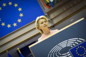 ursula von der leyen, presedinte, comisia europeana, dezbatere, plen, uniunea europeana