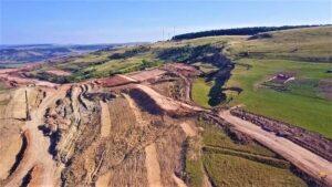 Alunecare de teren Autostrada Transilvania