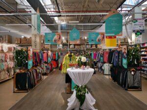 haine second hand, economie circulara, Auchan Craiova