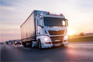 Camion TIR UK