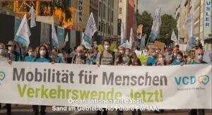Protest in Munchen