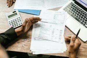 banca, credit, calcule, calculator
